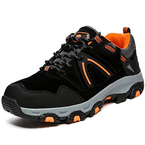 Giles Jones Mens Climbing Shoes Outdoor Lace Up Comfort Non-Slip Hunting Hiking - Lo Hut Hi