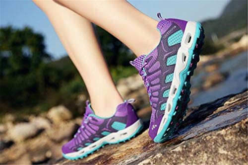 Wasser Schuhe Farbe Casual Mesh Herbst D Schuhe Cross Anti Wandern Schuhe 39 Country Exing Rutsch Womens F Outdoor Größe Breathable Lace Sneakers Frühling Liebhaber up Schuhe C1xwa8q