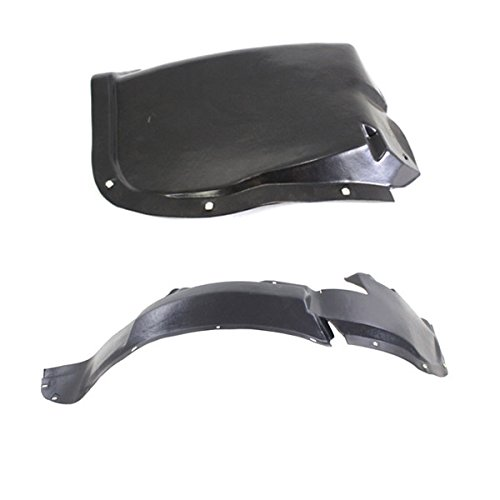 Koolzap For 96-00 Sebring Front Splash Shield Inner Fender Liner Panel Left & Right SET PAIR
