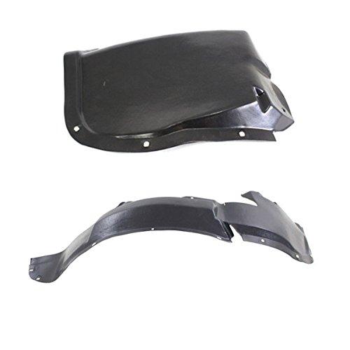 Koolzap For 96-00 Civic Front Splash Shield Inner Fender Liner Panel Left Right SET PAIR
