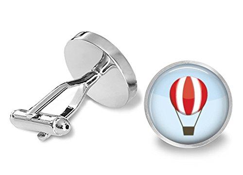 Hot Air Balloon Cufflinks ()