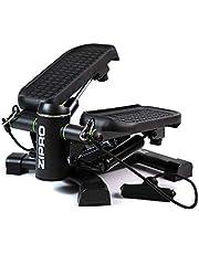 Zipro Roam Stepper Mini-fitnessapparaat incl. LCD-trainingscomputer met vele functies, fitnesstraining voor thuis hometrainer, swingstepper voor been- en billen training, slijtvast
