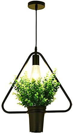 KY LEE Plant Chandelier Sky Garden Retro Industrial Creative Personality Clothing Store Coffee Restaurant Window Balcony Decoration lamp 1light