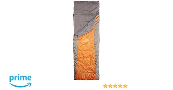 Unisex Adulto Elementerre DANKA Saco de Dormir Naranja 220 x 75