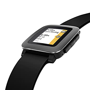Pebble Time Smartwatch - Black 5