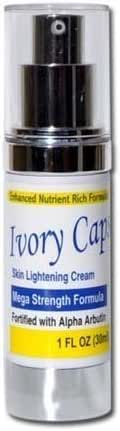 Ivory Caps Skin Whitening Lightening Support Cream (Pack of 1)