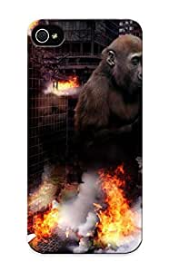 67e0d2d253 Tpu Phone Case With Fashionable Look For Iphone 5/5s - Jungle Vixen Case For Christmas Day's Gift