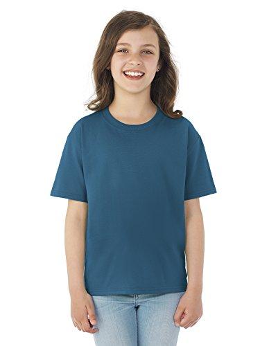 Fruit of the Loom Boys 5 oz.Heavy Cotton HD T-Shirt (3931B) -Denim -XS