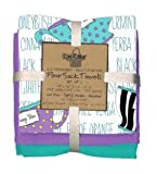 Kay Dee Designs Tea Talk 3PC Flour Sack Towel Set