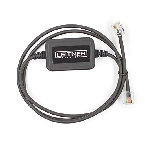 Leitner Electronic Hookswitch for Cisco Phones. Compatible with LH280, LH170, LH275, LH270 Leitner Wireless Office Headsets