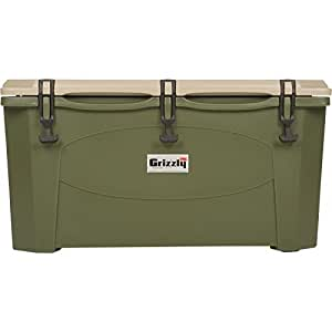 Grizzly Cooler - 15 Quart - for Hunting and Camping - ODGreen Color
