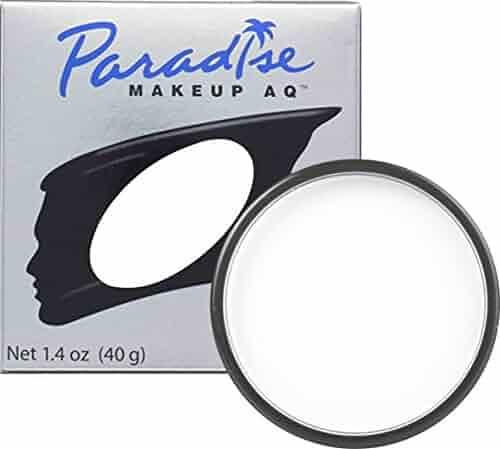 Mehron Makeup Paradise Makeup AQ Face & Body Paint (40 gm) (WHITE)