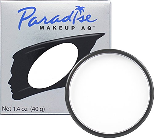 Mehron Makeup Paradise Makeup AQ Face & Body Paint (1.4 oz) (White) by Mehron