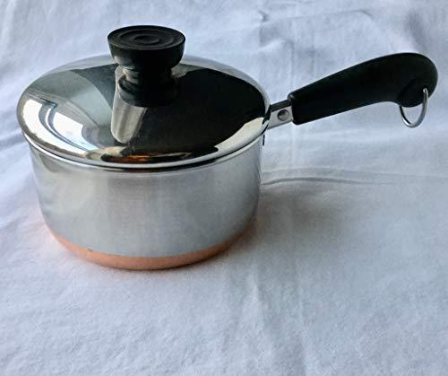 Revere: 1qt Saucepan & Lid Copper ()