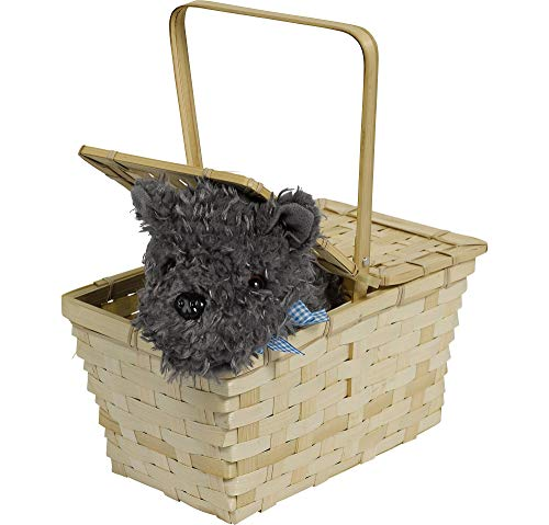 Suit Yourself Wizard of Oz Picnic Basket with Toto, Dorothy Halloween Costume Accessories, Includes Toto]()