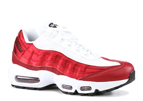 Nike Women's Air Max 95 LX Casual Shoe 7.5 Red (Nike Air Max 95 Red White Black)