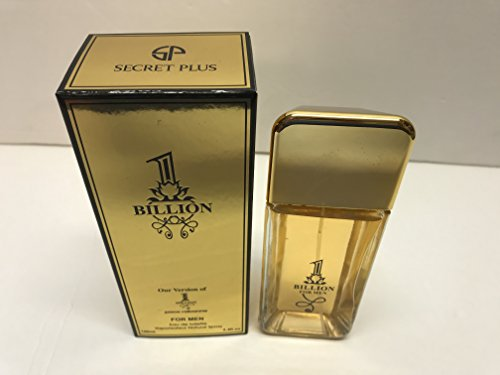 Secret Plus 1 Billion for men eau de Toilette Impression 3.4 Fl Oz Spray