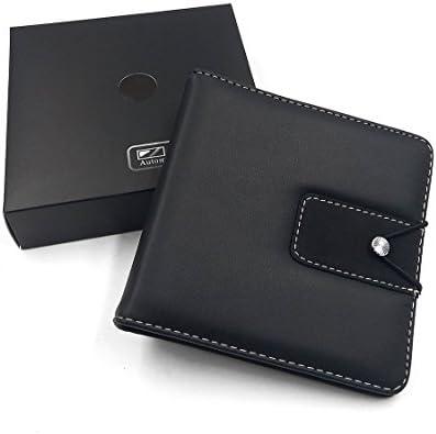 ATIDY® 20 CD/DVD capacidad funda, grado superior CD portátil cartera disco soporte para coche, oficina, casa o viaje: Amazon.es: Oficina y papelería