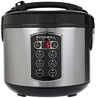 Rosewill RHRC-17001 12-Cup Cooked 6-Cup Uncooked Rice Cooker