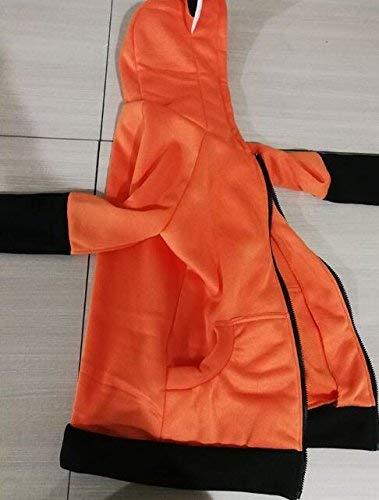 De Gaine Poches Manches Casual A Femme Coat Chat Vintage Costume Capuche lgant Outerwear clair Orange Mode Ferme Longues Hiver Sweat Automne Capuche Fermeture Manteau Oreilles IadZxZ
