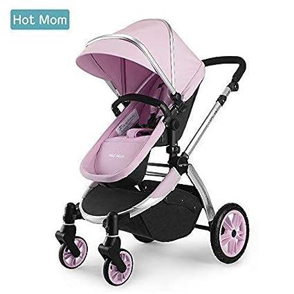 Hot Mom Multi cochecito cochecito 2 en 1 con buggy 2018 nuevo diseño – rosa