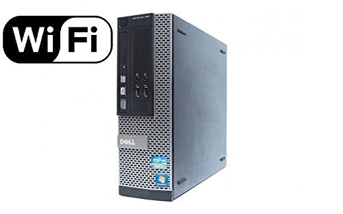 Dell Optiplex 390 Business High Performance SFF Desktop Computer PC (Intel Quad-Core i5-2400 up to 3.4GHz, 8GB DDR3, 1TB HDD, HDMI, DVD, Windows 10 Pro 64-bit) (Renewed) (Computer Hdmi)