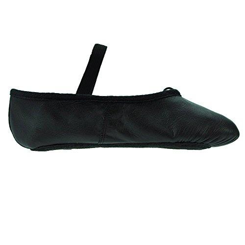 Black Ballet Leather Starlite Black Basic Shoes wA46XcPRq
