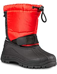 ZOOGS Kids Snow Boots Girls Boys; Youth Toddler Snow Boots