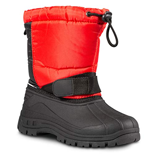 ZOOGS Kids Snow Boots for Girls and Boys; Youth and Toddler Snow Boots -