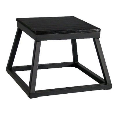 Ader Black Plyometric Platform Box (24'' Black) by Ader Sporting Goods (Image #1)