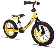KOOKIDO® Balance Bike with Real AIR Tires, No Pedal Kids Bike, 12 inch Bike for Kids Ages 3-5