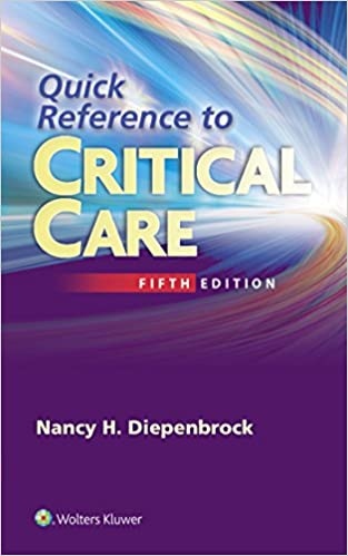 Book Quick Reference to Critical Care