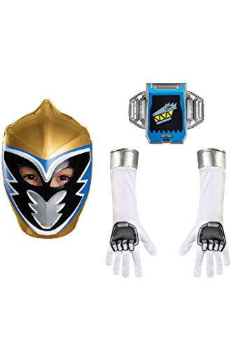 8eighteen Power Rangers Gold Ranger Dino Charge Child Accessory Kit (Ranger Adult Accessory Kit)