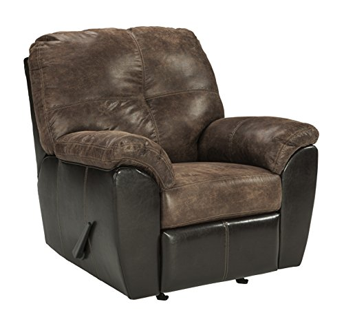 Ashley Furniture Signature Design - Gregale Contemporary Rocker Recliner Chair - Manual Reclining - ()