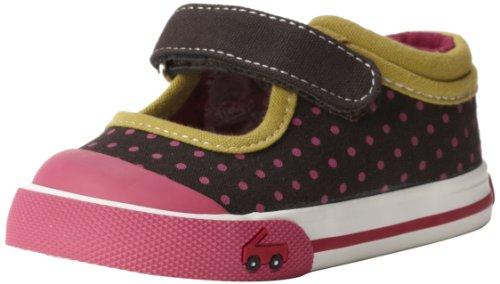 See Kai Run Adalynn Sneaker (Infant/Toddler/Big Kid),Brown,3 M US Infant
