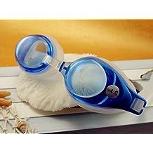 RX Corrective Optical Swim Goggles +5.0 Blue (Small Bridge age 5yrs to 10yrs old)