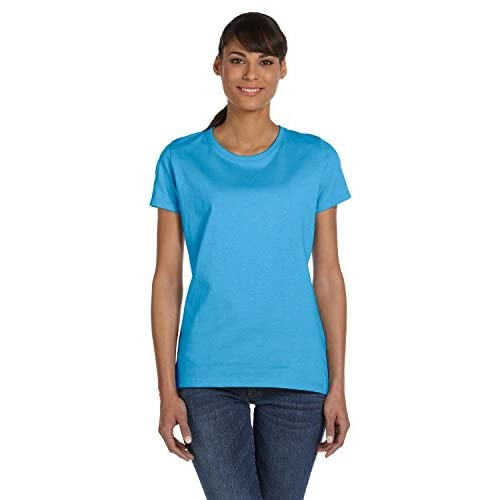 Hot Fruit of the Loom L3930R HD Cotton Women's Short Sleeve T-Shirt for sale