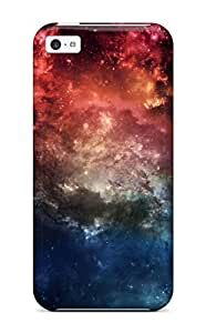 Durable Defender Case For Iphone 5c Tpu Cover(fantasy Space)
