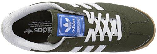 Adidas Originals Mens Samoa Retro Sneaker Night Last Vit / Blå Fågel