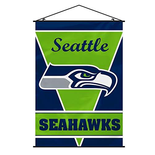 NFL Seattle Seahawks Wall Banner, Team Color (Renewed)