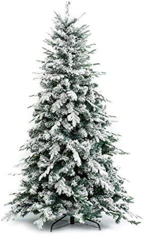XONE Albero di Natale Innevato Alaska (240 CM) – Effetto Realistico