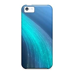 Awesome Ekj59011CWyi 88caseme Defender Hard Cases Covers For Iphone 5c- Bluewave