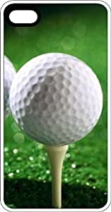 Teed Up Golf Ball Hole In One Clear Rubber Case for Apple iPhone 4 or iPhone 4s