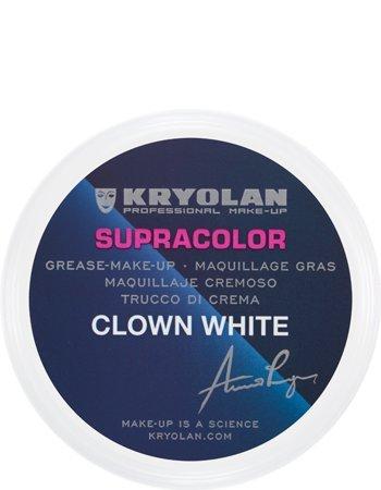 (Kryolan 1083 Supracolor 8.5oz/150ml (CLOWN WHITE) )