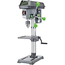 """Genesis GDP1005A 10"""" 5-Speed 4.1 Amp Drill Press with 5/8"""" Chuck, with Integrated work light and Table that Rotates and Tilts"""