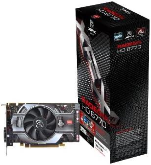 XFX HD-677X-ZNLC Radeon HD6770 1GB GDDR5 - Tarjeta gráfica (Radeon ...