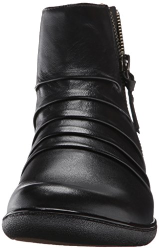 Leather Blush Women's Black Boot Kearns CLARKS g4TSf0P