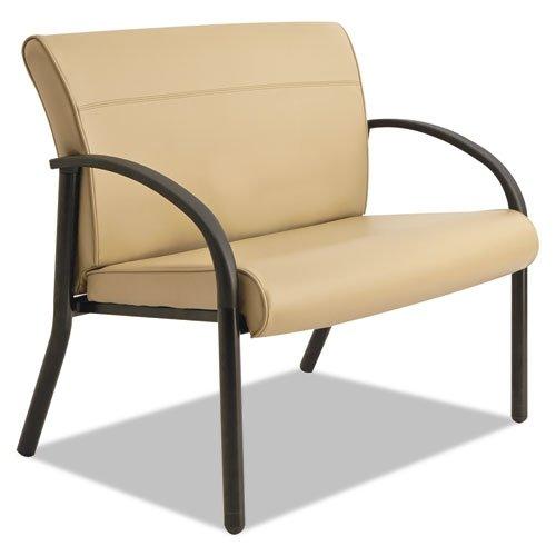 Series Bariatric Guest Chair (La-Z-Boy BLF14AWSHT Gratzi Reception Series Bariatric Guest Chair, Taupe Vinyl)