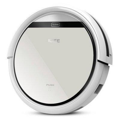 ILIFE V5 Intelligent Robotic Vacuum Cleaner - SILVER