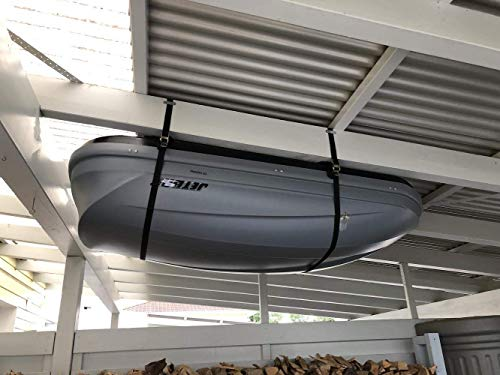 (Fasty - Box Lift Straps/Garage Storage Lift/Cargo Lift - 2 Straps - 12' Long, 1